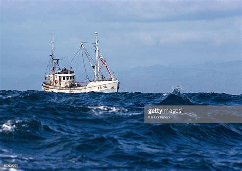 fishing boat photos fishing boat at sea stock photo getty images