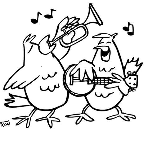 imagenes musicales para pintar la musica y los animales dibujos para colorear de animales