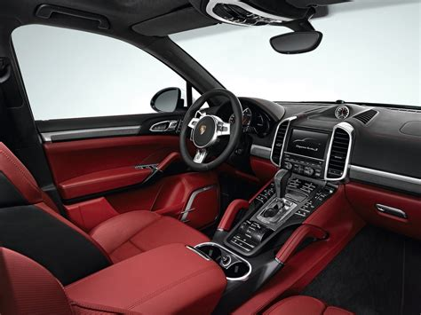 porsche turbo interior 2013 porsche cayenne turbo s cars info