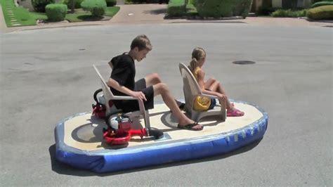 diy hover craft working hovercraft