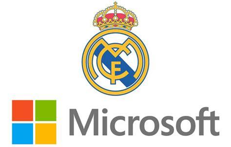 Microsoft Real Madrid el real madrid anuncia un acuerdo con microsoft