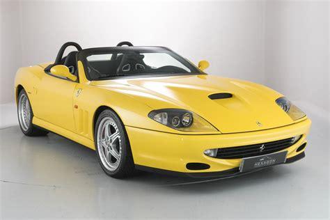 Ferrari Barchetta 550 by Low Mileage Ferrari 550 Barchetta Pininfarina For Sale It