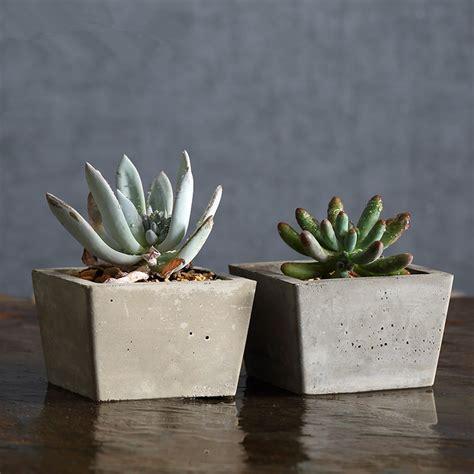 home decor pots aliexpress buy square cement flower pots planters