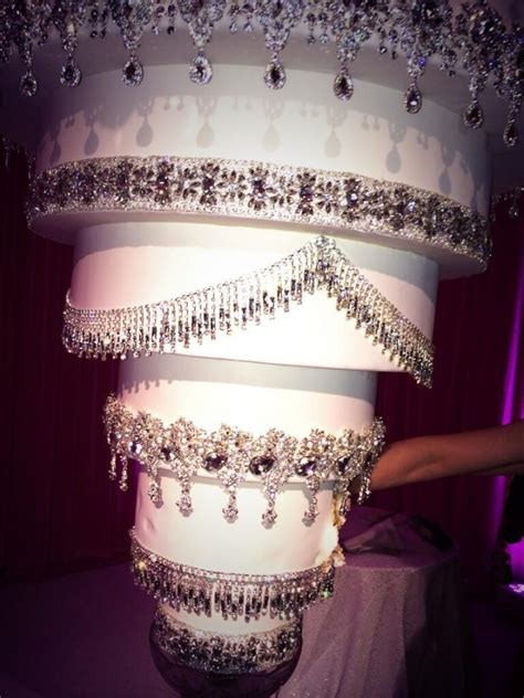 chandelier cake kaley cuoco s one of its wedding cake hung