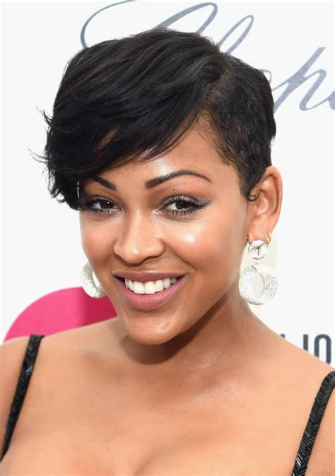 meagan good inspired hairstyle on short natural hair pin by s0ul fl0wer on meagan good pinterest short