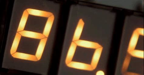 flux capacitor gif speeding in back to the future delorean at 88mph