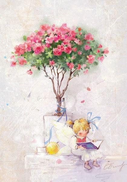 zyla pixie spring artists екатерина бабок lovelycards