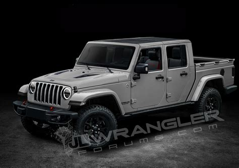 2019 Jeep 4 Door Truck by Our 2019 Jeep Jt Info And Preview Images