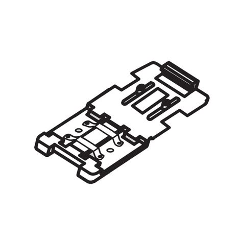 hafele cabinet lighting hafele loox led clip connector for led light 833 73