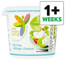 Tesco Free Cottage Cheese tesco healthy living 0 cottage cheese 300g groceries tesco groceries