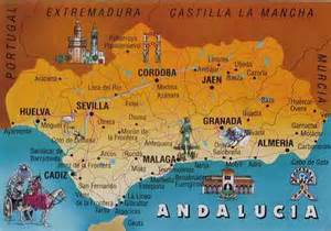 Map Of Southern Spain by Designing Jewels Southern Spain Design Discovered