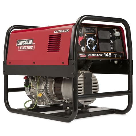 lincoln generators lincoln outback 145 engine welder generator w cover for