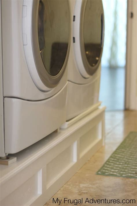Building Pedestals For Washer And Dryer 25 best ideas about washer pedestal on laundry room pedestal laundry pedestal and