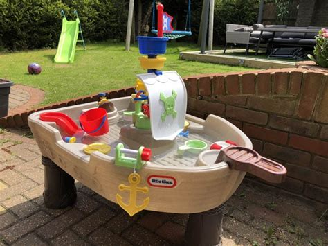 tikes anchors away pirate ship water play table tikes pirate ship water table review product