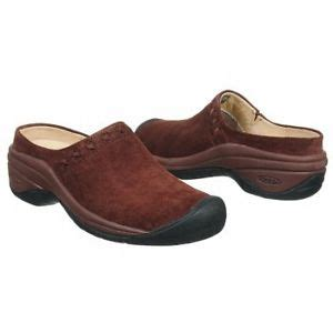 clearance womens shoes keen madder brown clog mule