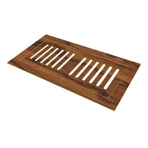 4 in x 12 in engineered hardwood flush mount floor register hand scraped distressed arleta