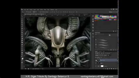 zbrush watch tutorial zbrush tutorial h r giger tribute youtube