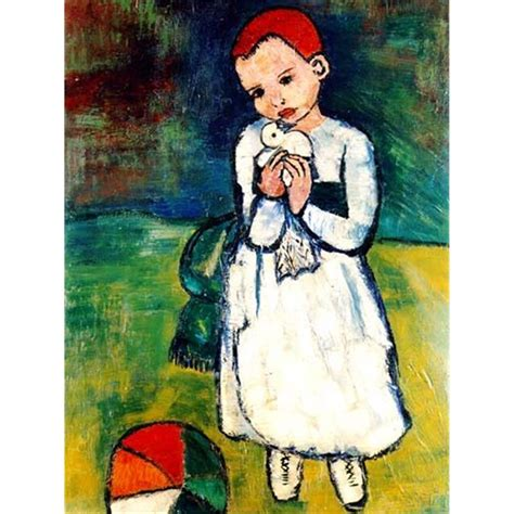 picasso paintings child with a dove picasso quot child holding a dove quot