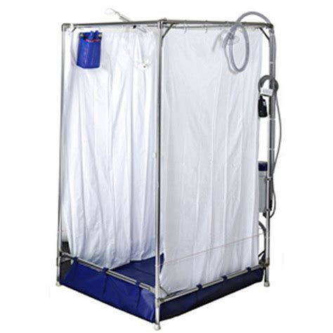ems stand up portable shower