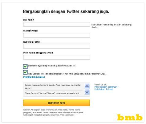 membuat email twitter baru cara membuat twitter baru daftar twitter dengan cepat