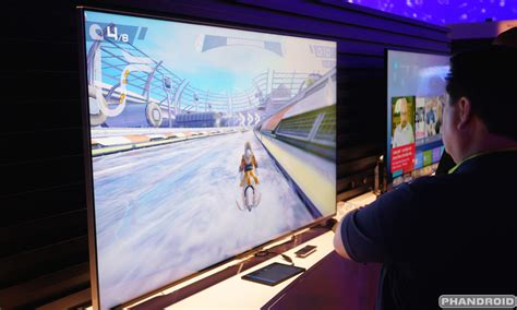 Tv Android Sharp ces 2015 look at sharp s android tvs in photos