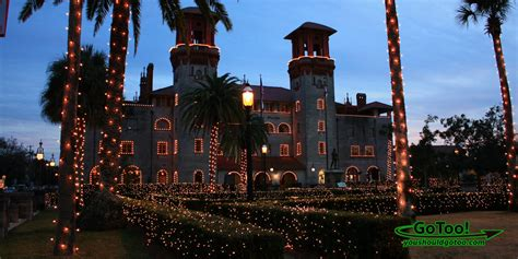 St Augustine Fl Nights Of Lights Celebrates The Christmas Florida Lights