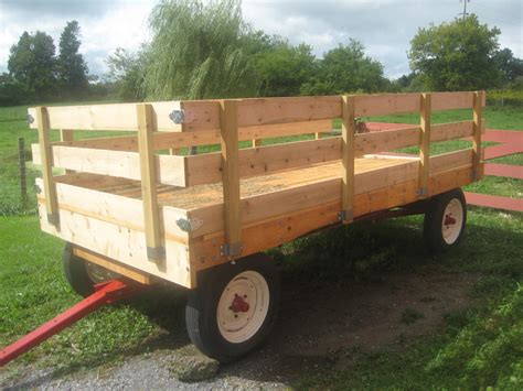 Restoring an old hay wagon