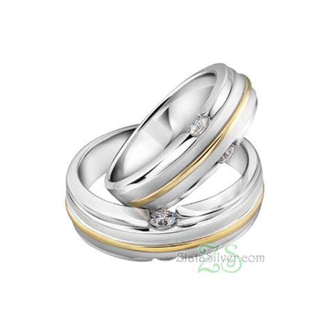 Cincin Palladium Nikah Perak Pasangan Tunangan Kawin 585 cincin kawin haritala zlata silver