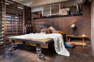 industrial look industrial bedroom ideas photos trendy inspirations