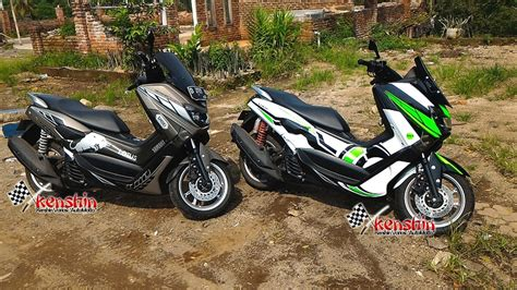Striping N Max The Doctor jual yamaha nmax n max striping custom sticker cutting