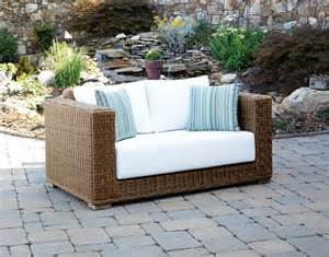 outdoor loveseat furniture south outdoor wicker loveseat contemporary