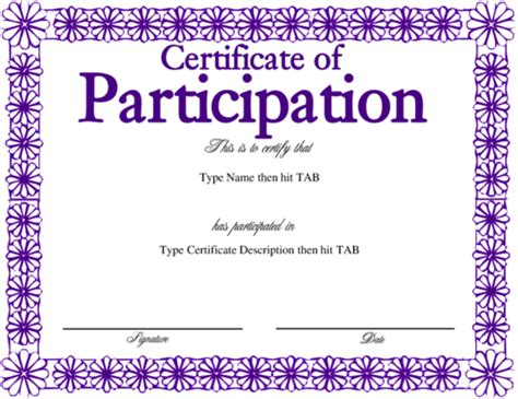 purple certificate template purple certificate templates blank certificates