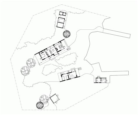 Remote Retreat Among The Wilderness Of The Stockholm Remote Cabin Floor Plans