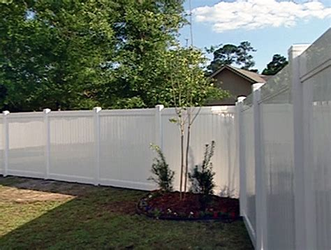 how to install a vinyl privacy fence how tos diy decoration installing vinyl fence with how to install a