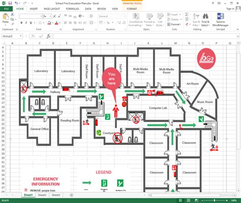 draw floor plans in excel create office floor plan in excel
