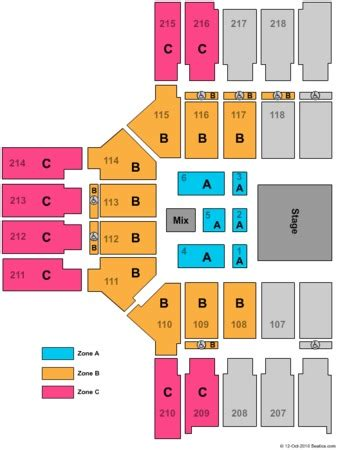 the broad stage seating chart broadmoor world arena tickets in colorado springs colorado