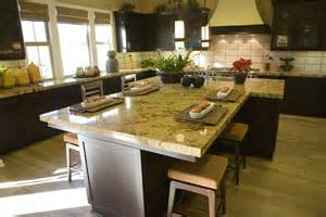 Extra Long Kitchen Island Eclectic Mix Of 42 Custom Kitchen Designs
