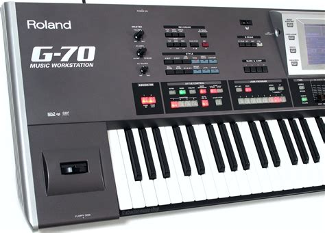 Keyboard Roland G70 roland g 70 g70 v3 profi entertainer keyboard workstation