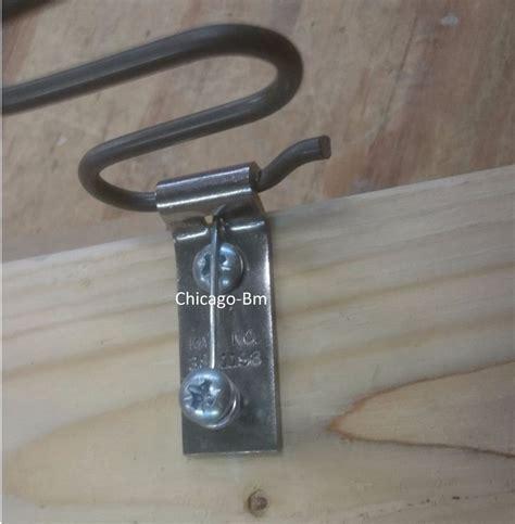 upholstery spring clips zig zag spring clips bracket repair kit screws