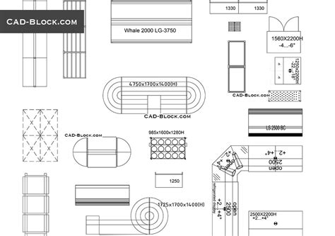 display printable area autocad store and supermarket supplies free blocks autocad