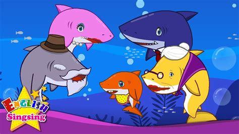 baby shark youtube lyrics baby shark english cartoon nursery rhyme video kids