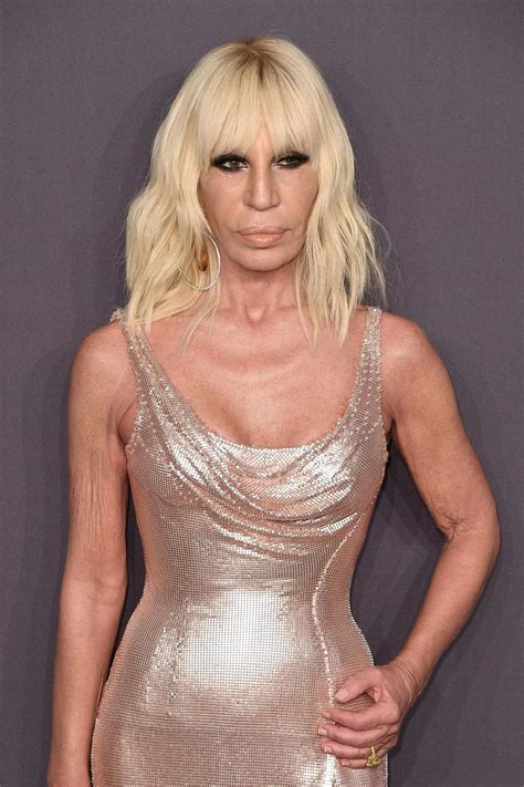 Donatella Versace To Design The Next Spice Tour Wardrobes Catwalk by Donatella Versace 73 Questions The Designer Has Worked