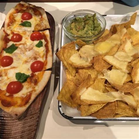 Bespoke Armchairs Pizza And Nachos Picture Of Everyman Mailbox Birmingham