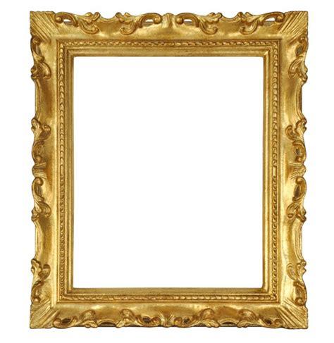 cornice 30x40 cornice rettangolare in legno quot francesina quot oro 30x40 cm