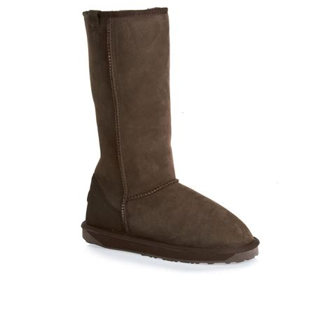 emu boots sale emu stinger hi sheepskin boots chocolate free uk delivery