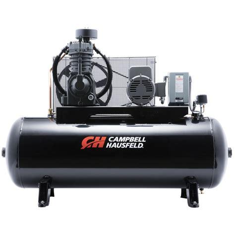 air compressor 80 gallon 2 stage cbell hausfeld ce7005