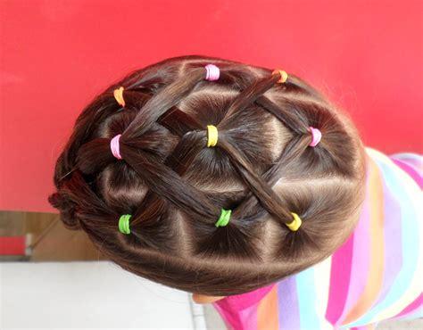 peinados nias peinado f 225 cil para ni 241 a easy ponytail for girl youtube