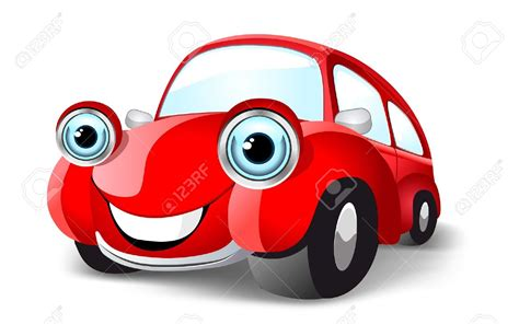 cartoon car vehicle clipart red car pencil and in color vehicle