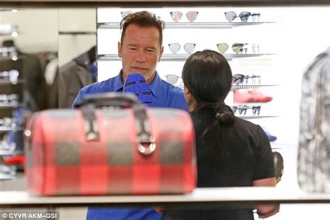 arnold 5 years later we re still married arnold schwarzenegger with milligan in