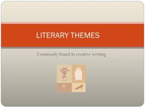 powerpoint for themes in literature ppt common themes in canadian literature powerpoint